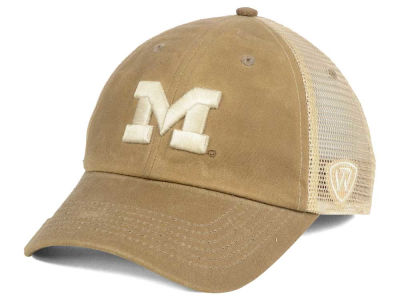 Michigan Wolverines Top of the World NCAA Mudd 2 Tone Mesh Cap