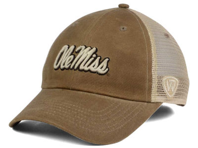 Ole Miss Rebels Top of the World NCAA Mudd 2 Tone Mesh Cap