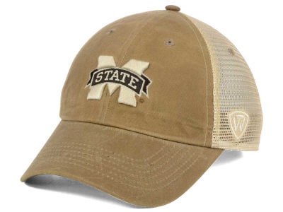 Mississippi State Bulldogs Top of the World NCAA Mudd 2 Tone Mesh Cap