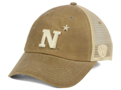Navy Midshipmen Top of the World NCAA Mudd 2 Tone Mesh Cap