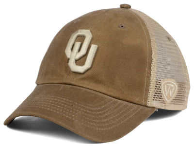 Oklahoma Sooners Top of the World NCAA Mudd 2 Tone Mesh Cap