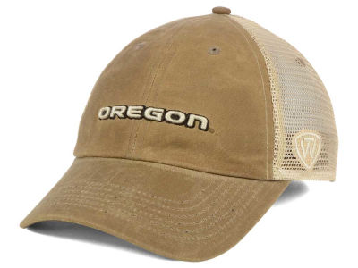 Oregon Ducks Top of the World NCAA Mudd 2 Tone Mesh Cap