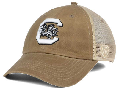 South Carolina Gamecocks Top of the World NCAA Mudd 2 Tone Mesh Cap