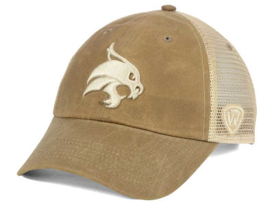 Texas State Bobcats Top of the World NCAA Mudd 2 Tone Mesh Cap