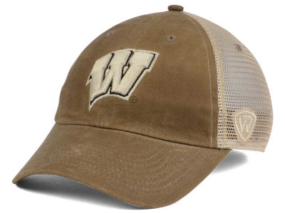 Wisconsin Badgers Top of the World NCAA Mudd 2 Tone Mesh Cap