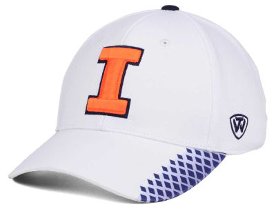 Illinois Fighting Illini Top of the World NCAA Merge Stretch Cap