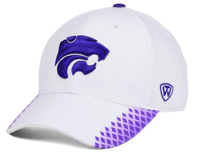 Kansas State Wildcats Top of the World NCAA Merge Stretch Cap