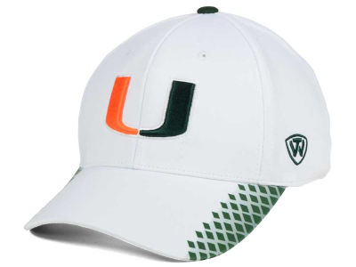 Miami Hurricanes Top of the World NCAA Merge Stretch Cap