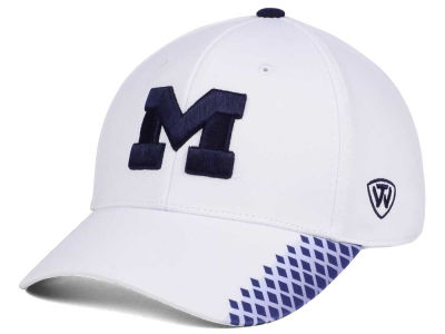 Michigan Wolverines Top of the World NCAA Merge Stretch Cap