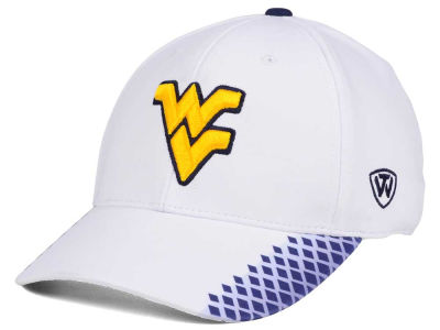 West Virginia Mountaineers Top of the World NCAA Merge Stretch Cap