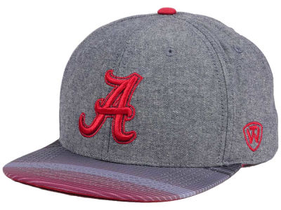 Alabama Crimson Tide Top of the World NCAA Tarnesh Snapback Cap