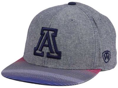Arizona Wildcats Top of the World NCAA Tarnesh Snapback Cap