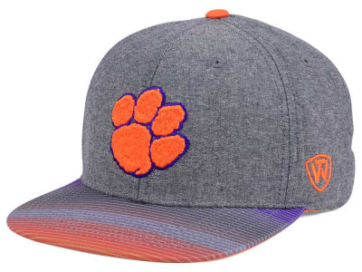 Clemson Tigers Top of the World NCAA Tarnesh Snapback Cap