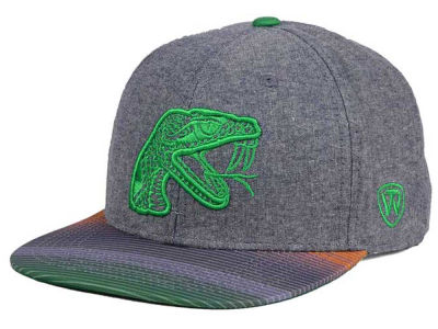 Florida A&M Rattlers Top of the World NCAA Tarnesh Snapback Cap