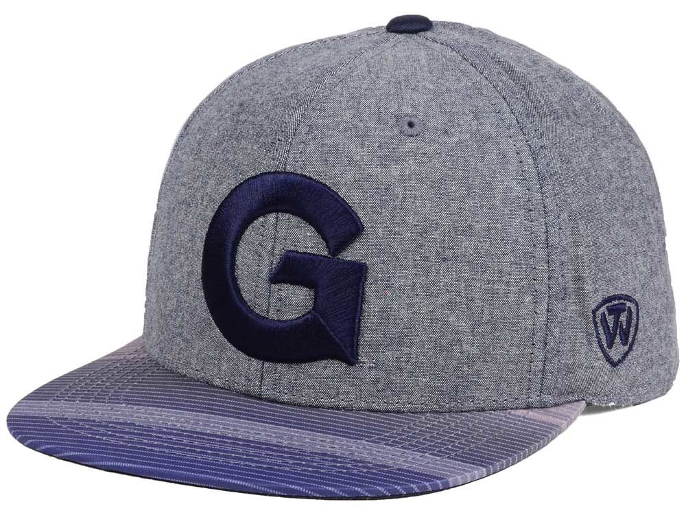 reputable site cb4d2 5014e ... promo code for georgetown hoyas top of the world ncaa tarnesh snapback  cap af64e 7d652