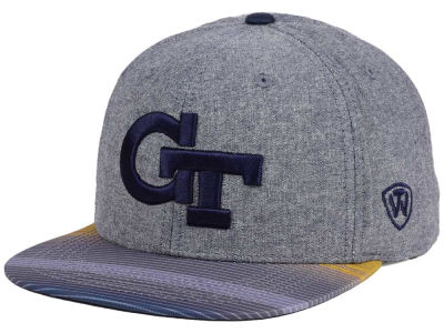 Georgia-Tech Top of the World NCAA Tarnesh Snapback Cap