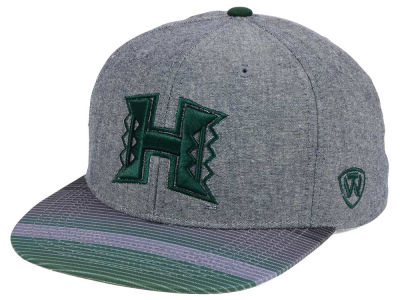 Hawaii Warriors Top of the World NCAA Tarnesh Snapback Cap
