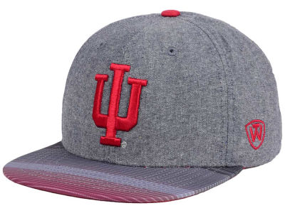Indiana Hoosiers Top of the World NCAA Tarnesh Snapback Cap