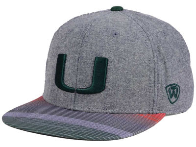 Miami Hurricanes Top of the World NCAA Tarnesh Snapback Cap