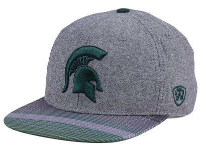 Michigan State Spartans Top of the World NCAA Tarnesh Snapback Cap