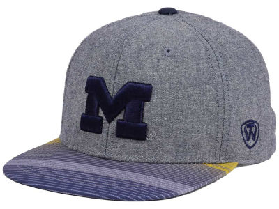 Michigan Wolverines Top of the World NCAA Tarnesh Snapback Cap