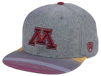 Minnesota Golden Gophers Top of the World NCAA Tarnesh Snapback Cap