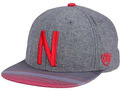 Nebraska Cornhuskers Top of the World NCAA Tarnesh Snapback Cap