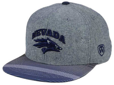 Nevada Wolf Pack Top of the World NCAA Tarnesh Snapback Cap