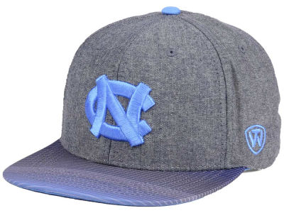 North Carolina Tar Heels Top of the World NCAA Tarnesh Snapback Cap