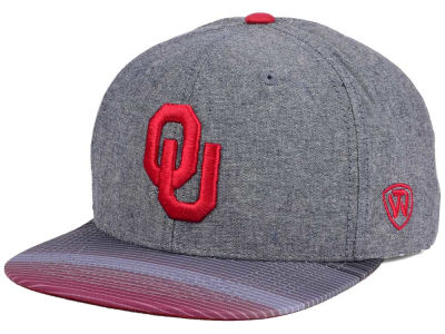 sale retailer 73d5c b9b83 Oklahoma Sooners Top of the World NCAA Tarnesh Snapback Cap
