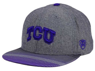 Texas Christian Horned Frogs Top of the World NCAA Tarnesh Snapback Cap