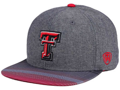 Texas Tech Red Raiders Top of the World NCAA Tarnesh Snapback Cap