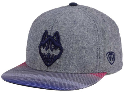 Connecticut Huskies Top of the World NCAA Tarnesh Snapback Cap