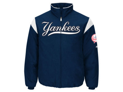 New York Yankees Majestic MLB Men's On-Field Thermal Jacket 3XL-4XL