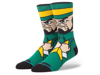 Notre Dame Fighting Irish Stance NCAA Mascot Sock