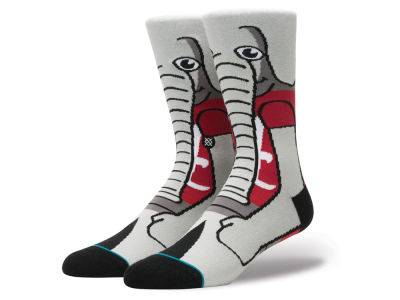 Alabama Crimson Tide Stance NCAA Mascot Sock