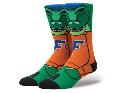 Florida Gators Stance NCAA Mascot Sock