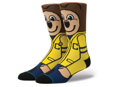 California Golden Bears Stance NCAA Mascot Sock