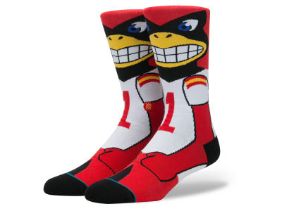 Iowa State Cyclones Stance NCAA Mascot Sock
