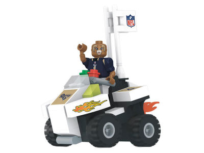 Los Angeles Rams OYO 4 Wheel ATV w Mascot