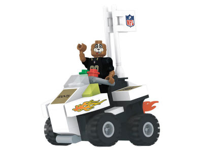 New Orleans Saints OYO 4 Wheel ATV w Mascot