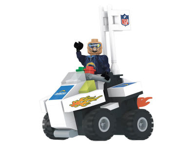 Los Angeles Chargers OYO 4 Wheel ATV w Mascot