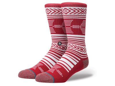 Alabama Crimson Tide Stance NCAA Mazed Sock
