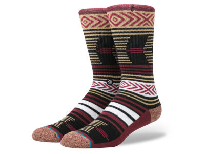 Florida State Seminoles Stance NCAA Mazed Sock