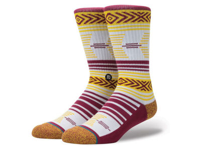Arizona State Sun Devils Stance NCAA Mazed Sock