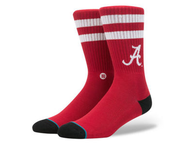 Alabama Crimson Tide Stance NCAA Team Logo Sock