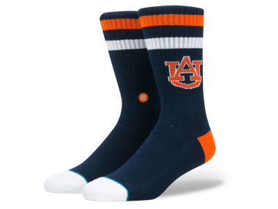 Auburn Tigers Stance NCAA Team Logo Sock