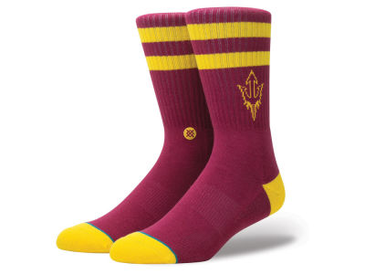 Arizona State Sun Devils Stance NCAA Team Logo Sock