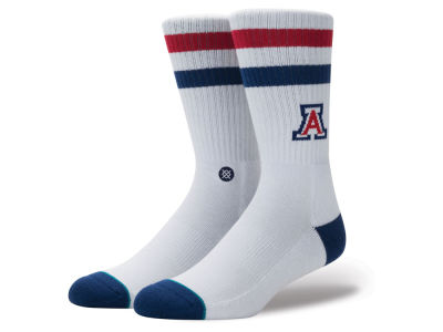 Arizona Wildcats Stance NCAA Team Logo Sock