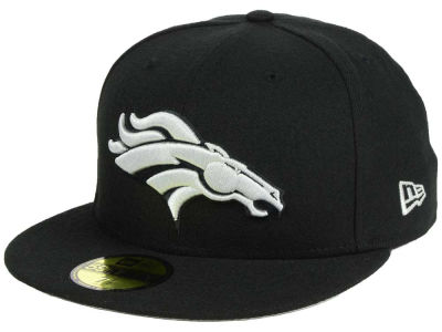 Denver Broncos New Era NFL Basic Pop Black 59FIFTY Cap